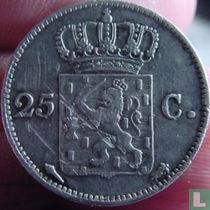 Netherlands 25 cent 1819