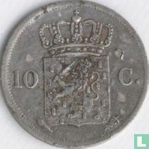 Netherlands 10 cent 1822