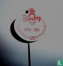 Bensdorp 1840 - 1965 125 [rood op wit]