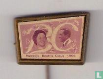 BC Huwelijk Beatrix Claus 1966 (in lijst)
