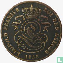 België 2 centimes 1858