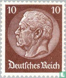 Paul von Hindenburg Präsident