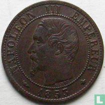 Frankrijk 1 centime 1853 (BB)