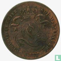 België 1 centime 1858