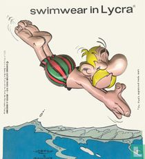 Swimwear in lycra - Asterix