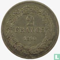 België 2 francs 1840
