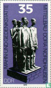 Monument Mittelbau-Dora near Nordhausen