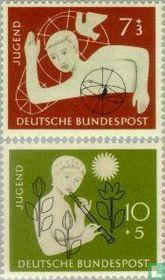 1956 Boy and girl (BRD 54)