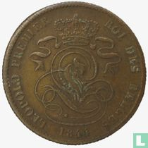 België 2 centimes 1844