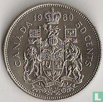 Canada 50 cents 1980 kopen