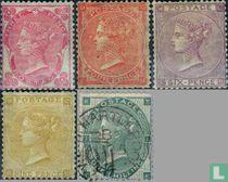 1862 Koningin Victoria- Vier kleine letters (GRB 9)