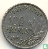 Frankrijk 100 francs 1954 (zonder B)