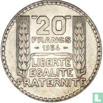 Frankrijk 20 francs 1934