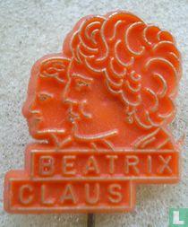 Beatrix Claus [goud op oranje]