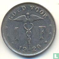 België 1 franc 1929 (NLD)