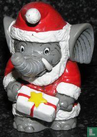 Benjamin Blümchen as Santa Claus
