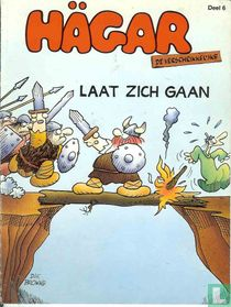 Hägar laat zich gaan