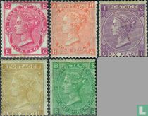 1865 Koningin Victoria- Grote letters (GRB 10)