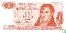 Argentinië 1 Peso 1970