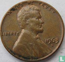 Vereinigte Staaten 1 Cent 1963 (D)