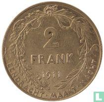 België 2 francs 1911 (NLD)