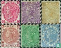 1867 Koningin Victoria- Watermerk roos (GRB 11)
