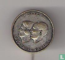 10 maart 1966 Beatrix-Claus