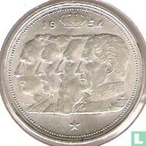 België 100 francs 1954