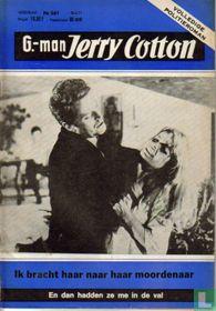 G-man Jerry Cotton tijdschriftencatalogus