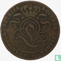 België 5 centimes 1855
