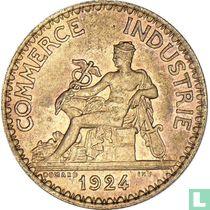 Frankrijk 1 franc 1924 (open 4) kopen