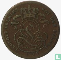 België 1 centime 1846