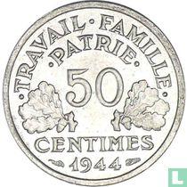 Frankreich 50 Centime 1944 (C)