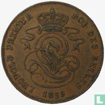 België 2 centimes 1859