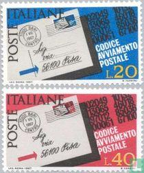 Einführung der Postleitzahlen