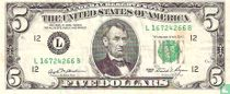 Verenigde Staten 5 dollars 1981 L
