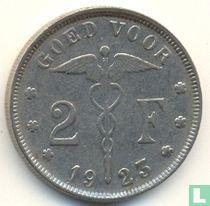 België 2 francs 1923 (NLD)