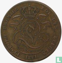 België 5 centimes 1841