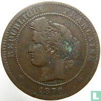 France 10 centimes 1870