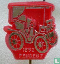 Peugeot 1892 [goud op rood]