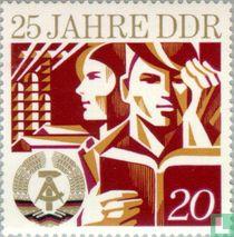 D.D.R. 25 years