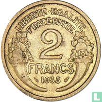 Frankrijk 2 francs 1935