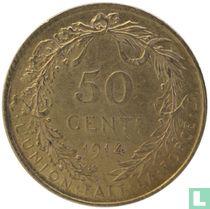 België 50 centimes 1914