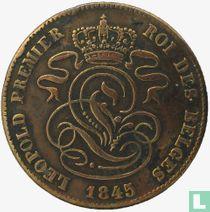 België 2 centimes 1845