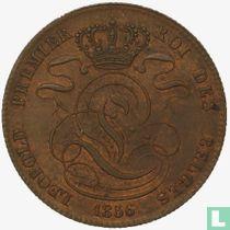 België 5 centimes 1856