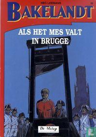 Als het mes valt in Brugge