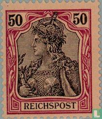 Germania Inschrift ReichsPost