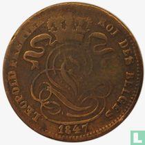 België 1 centime 1847