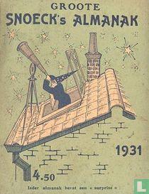 Groote Snoeck's Almanak 1931