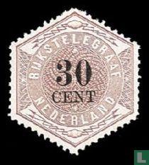 Telegramm-Briefmarken